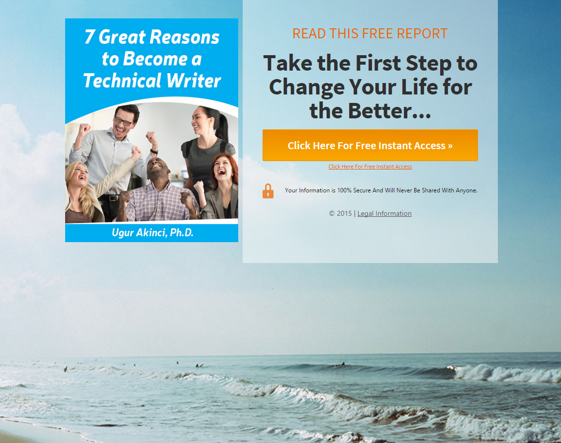 7 Great Reasons LARGE PAGE for TCC