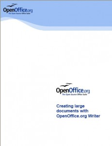 "A Great Manual from Open Office: ""Creating Large Documents"""