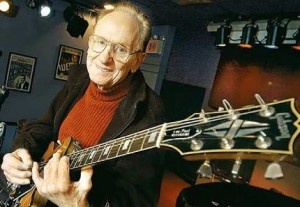 Les Paul - master of electric guitar and life...