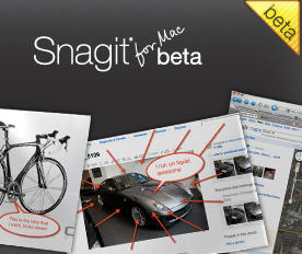SnagIt for Mac Beta is Now Available