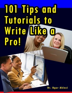 101 Tips and Tutorials to Write Like a Pro!