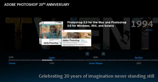 20th Anniversary of Adobe Photoshop