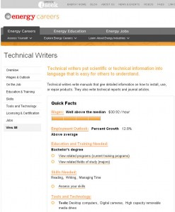 Energy Careers: Technical Writing is one of the best jobs out there