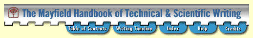 Mayfield Handbook of Technical & Scientific Writing