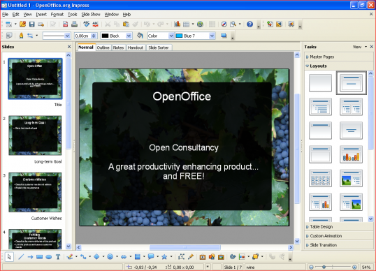 Technical Communication Center OpenOffice Impress 8