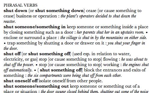 Mac Dictionary and Theasurus