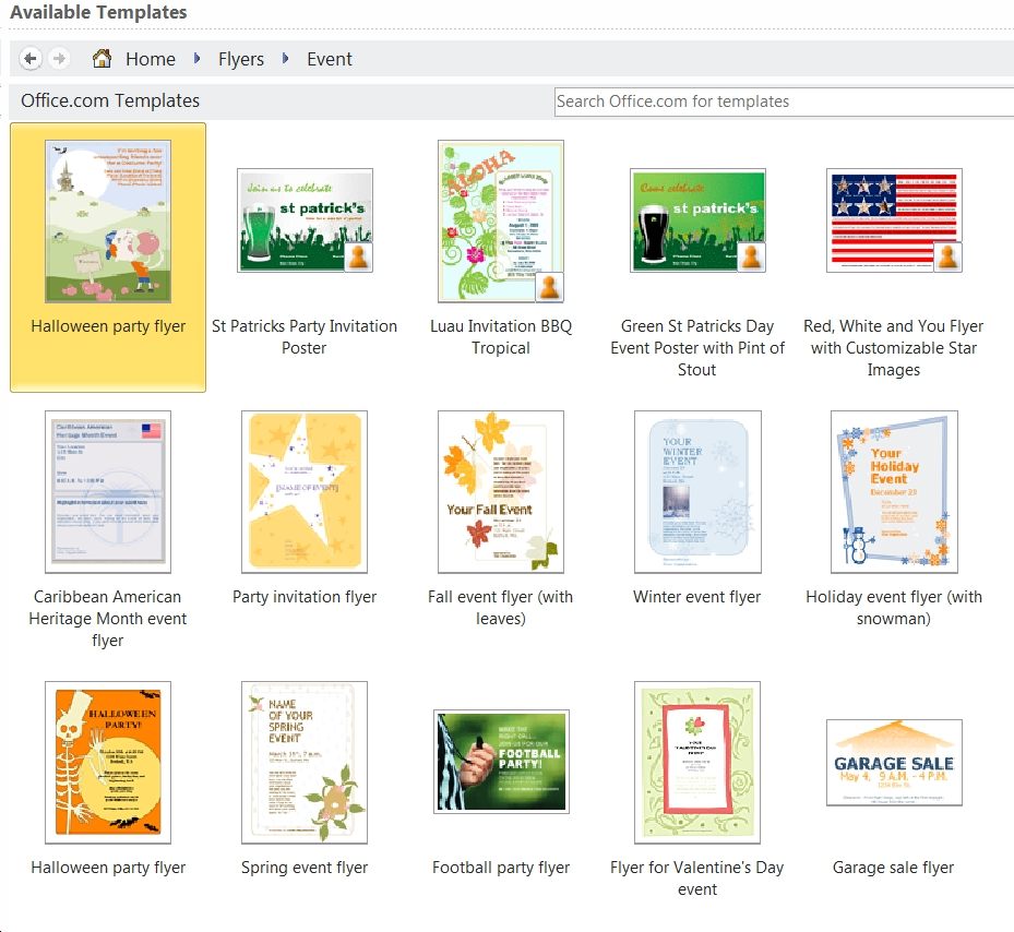 Ms Word 2010 All The Templates You Need And Then Some