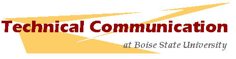 Boise State certificate in Technical Communication