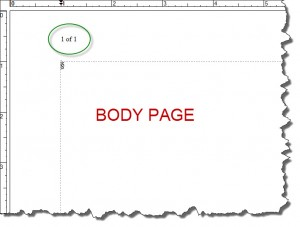 Adobe FrameMaker 9 -- How to Add Page Number to a Master Page