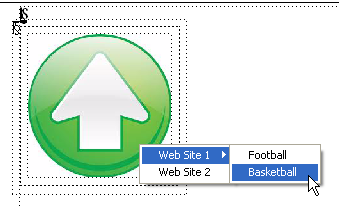 FM_How to add drop-down menu to an image SECOND-LEVEL MENU