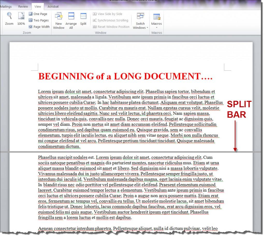 MS_WORD_2010_Long_Document_SPLIT_BAR