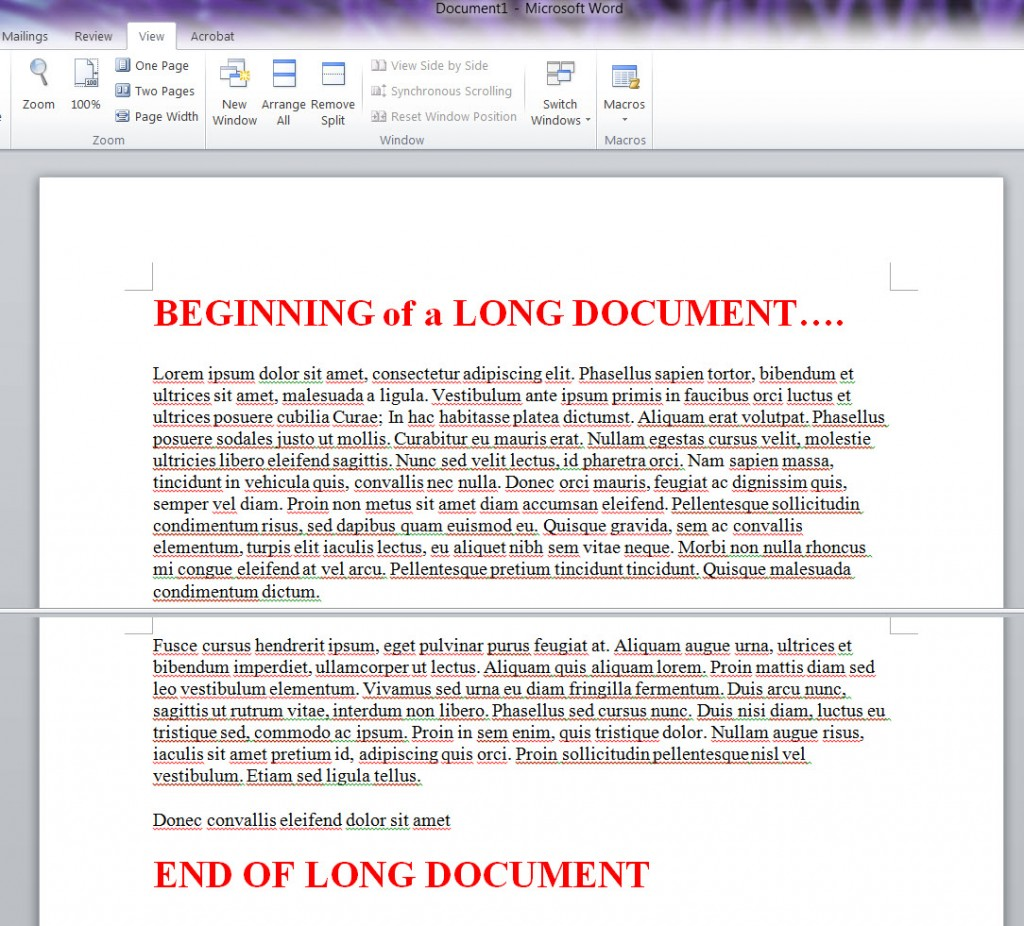 MS_WORD_2010_Long_Document_SPLIT_WNDOW