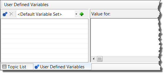how to create insert and edit user defined variables in robohelp 8