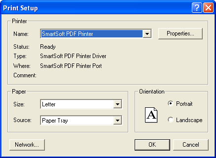 Create PDF file from almost any application with SmartPDFcreator 3