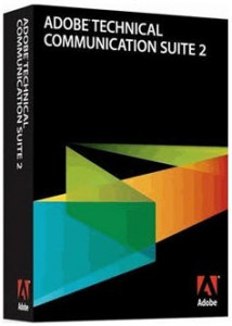 Technical Communication Suite 2.5 comes in a TCS2 box