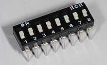 Slide Style DIP switch