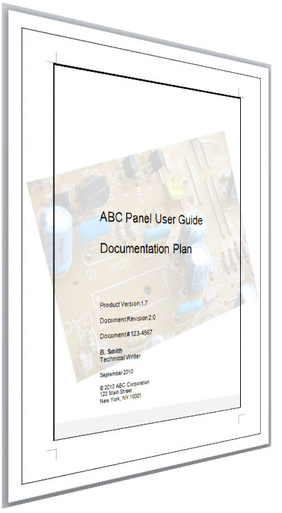 Documentation Plan Template