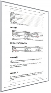 Documentation Plan Page 2