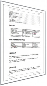 Documentation Plan Page 3