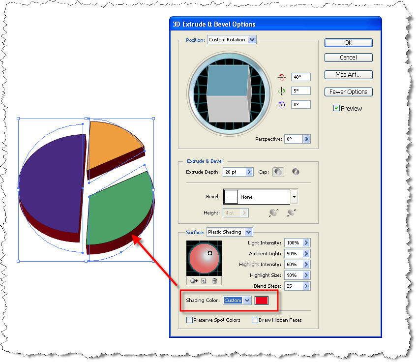 How To Create A Pie Chart With Adobe Illustrator Technical
