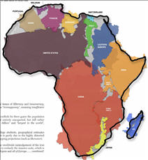 Information Graphics: The True Africa