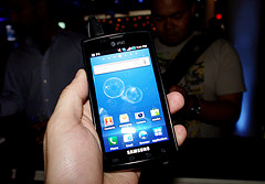 Samsung Galaxy S Android (Google) Phone 2