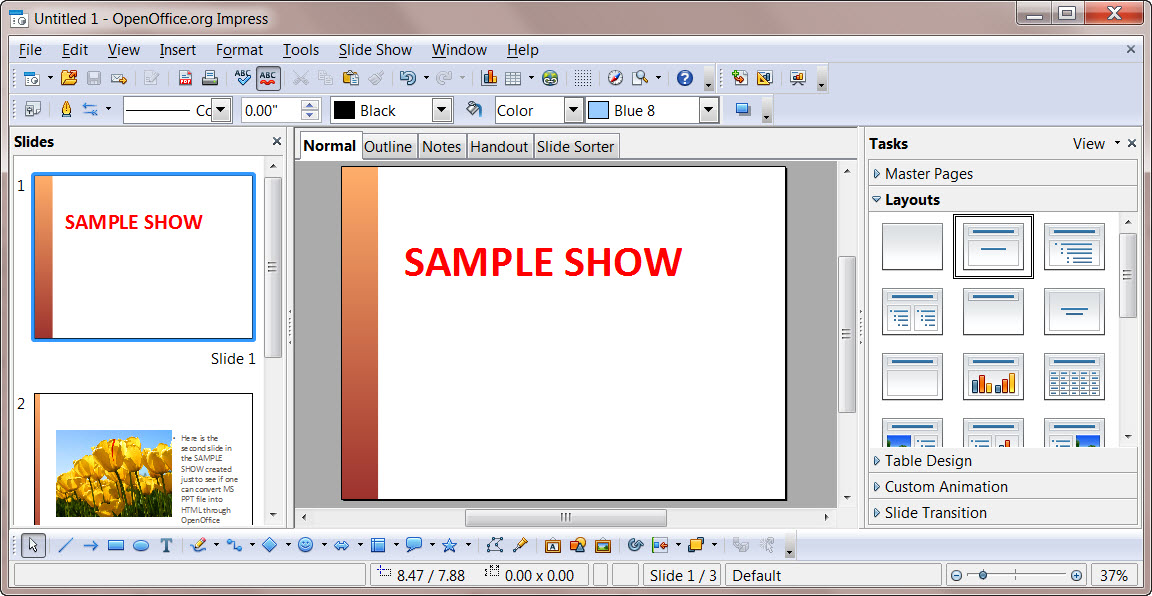OpenOffice copy of PPT Presentation