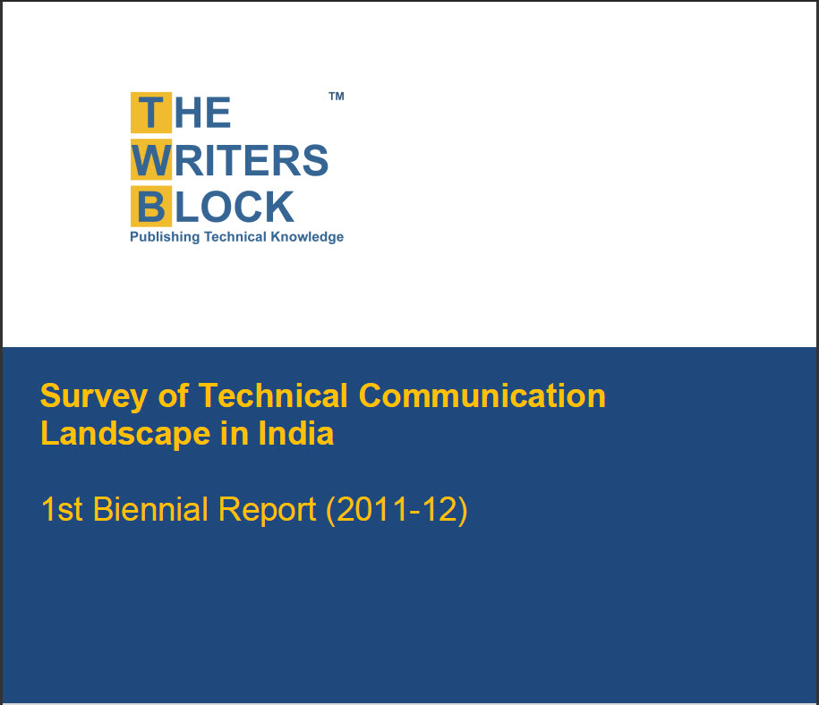 "TECHNICAL BOOK REVIEW: ""Survey of Technical Communication Landscape in India"" by TWB"