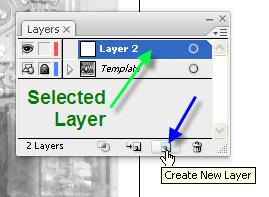 Adobe Illustrator Tutorial 7 - CREATE NEW LAYER