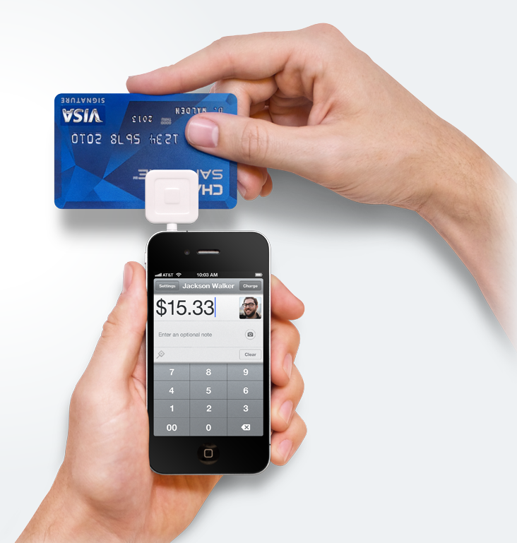 Charge Credit Cards on Your Cell Phone