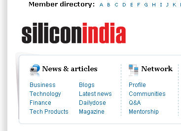 Silicon India WEB SITE