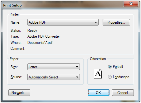 what is the adobe pdf printer