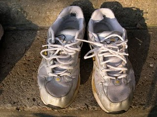 Jogging Shoes 1 -- Run for Fun, Health & WRITING
