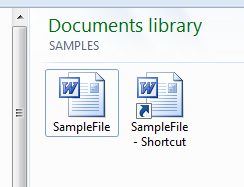 Sample_File_Shortcut