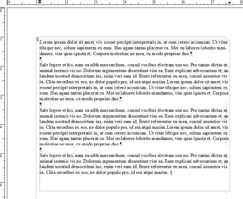 FrameMaker Text Wrap