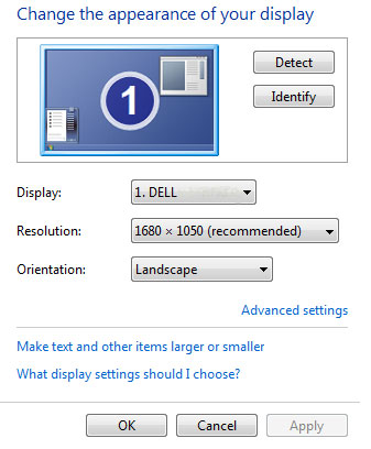 Windows-SINGLE-Monitor