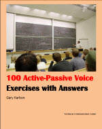 Active Passive Voice Worksheet with 100 Exercises