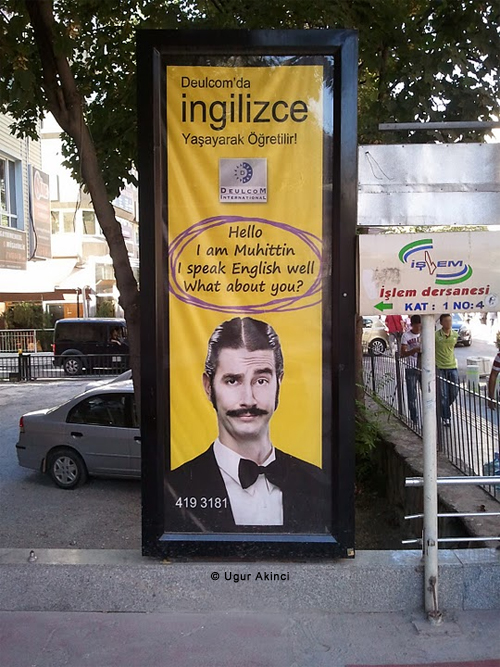 English as a Second Language ESL is hot in Turkey