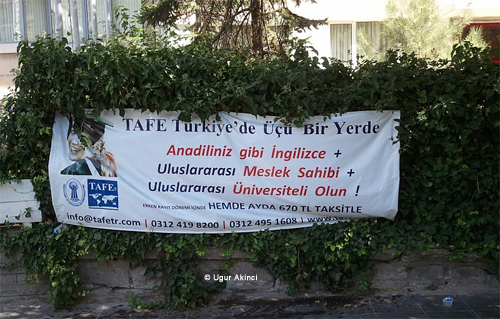 Ankara_Ingilizce_TAFE English as a Second Language