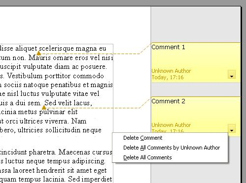 How to Add Comments to an OpenOffice Writer Document