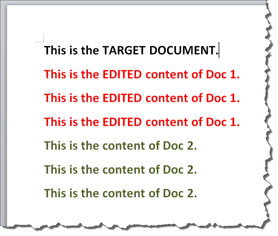 how do i combine a word document with a pdf