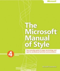 Microsoft Manual of Style 4th Edition