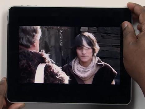 ID document in iPad VIDEO 2