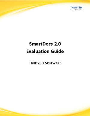 """Evaluation Guide"" by SmartDocs – a Truly Useful Kind of Technical Document"