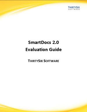SmartDocs Evaluation Guide