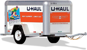 Perfect Example of a Relevant Benefit Statement on a U-Haul Trailer