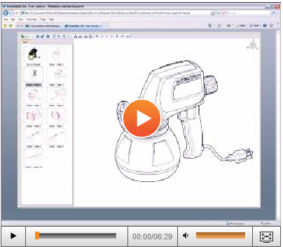 3DVIA Composer™ Technical Communication Software for 3-D Technical Illustrations