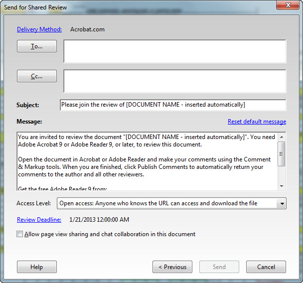 Acrobat Upload File 4 Shared Review
