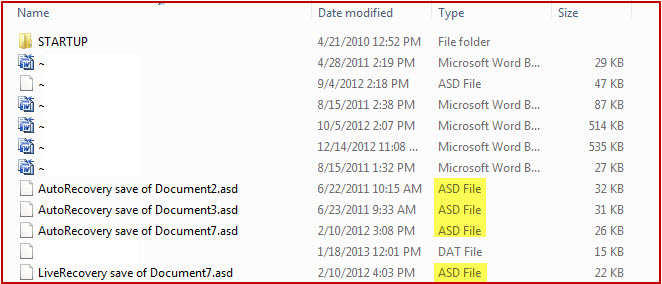 How to AutoRecover Unsaved Files in MS Word 2007 (2)