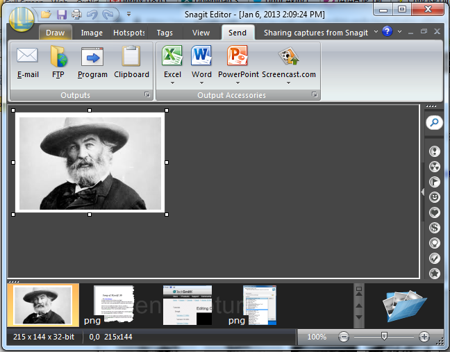 Snagit Export to MS Word 2